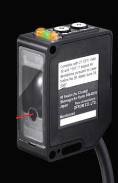 高频开关型激光传感器