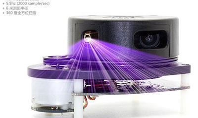 360度扫描激光测距仪