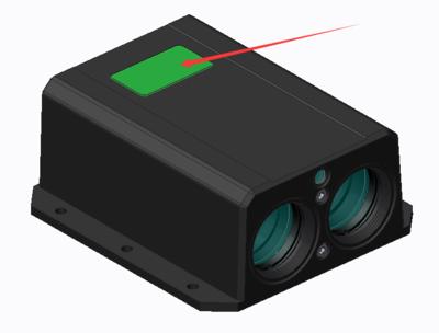 1000米大量程军品级激光测距传感器